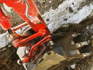 excavation-drain